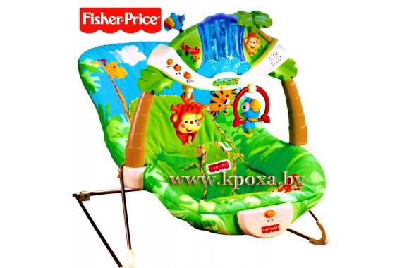 ТРОПИЧЕСКИЙ ЛЕС кресло-шезлонг Fisher-Price