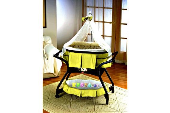 """Zen Collection """"Gliding Bassinet Zen"""" Fisher Price"""