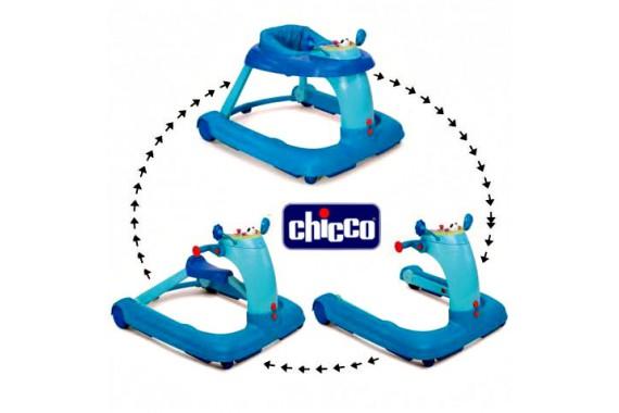 Chicco ходунки 3 в 1 Chicco blue
