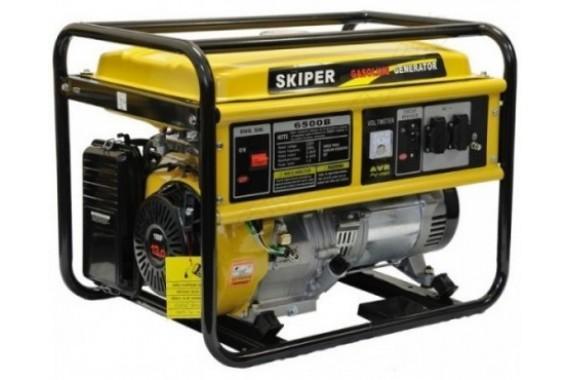 Бензогенератор Skiper LT 6500 В