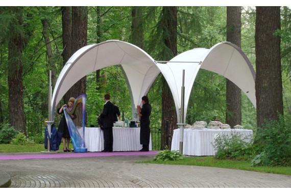 Арочный шатер 3,5 х 3,5 м