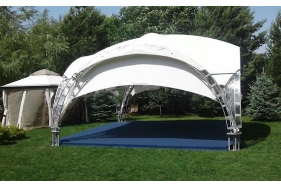 Арочный шатер 6 х 6 м