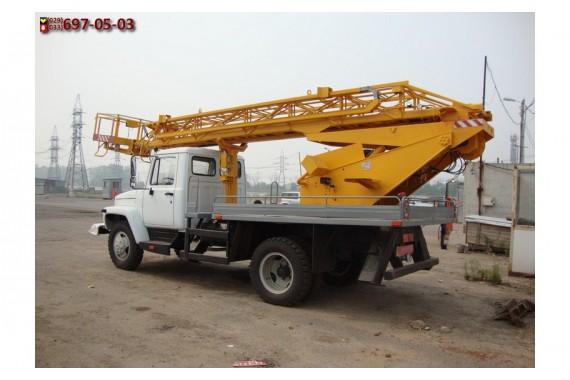 Автовышка 17 метров AР на базе Газ 3307