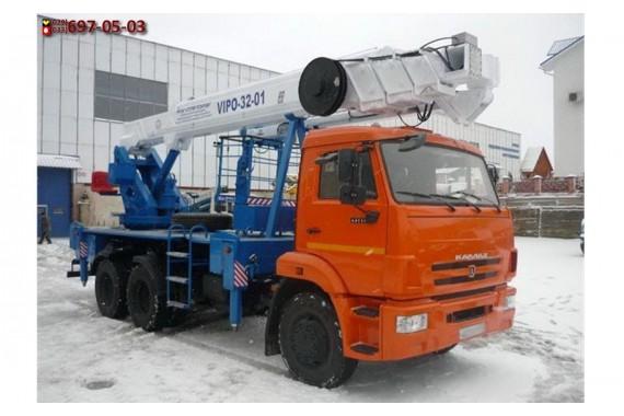 Автовышка КамАЗ 32 метра