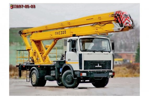 Автовышка МАЗ 28 метров