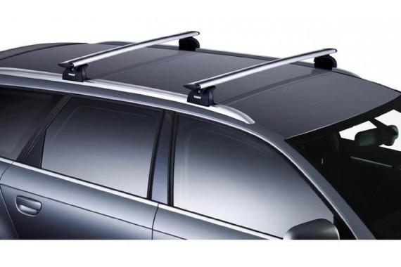 Багажник (поперечные рейлинги) Thule Rapid System 753+Wingbar 961, 962, 963, 969 для Audi Q5, Q7