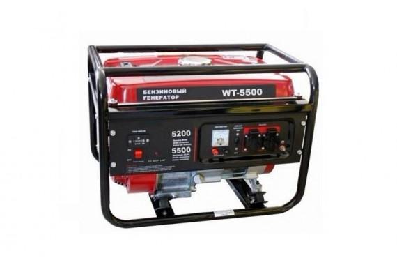 Бензиновая электростанция (генератор) Watt WT-5500