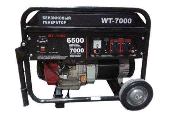 Бензогенератор Watt WT-7000