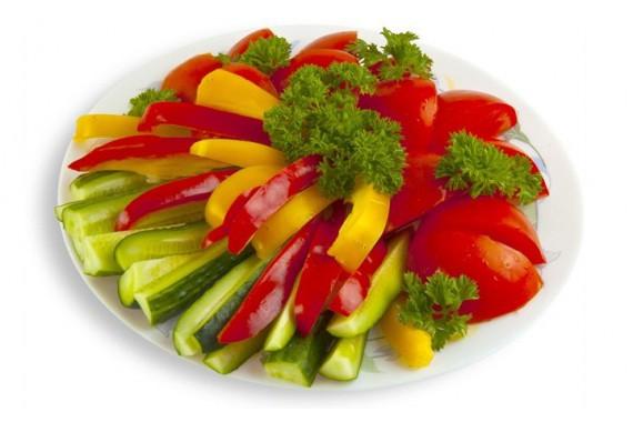 Блюдо для ассорти овощного