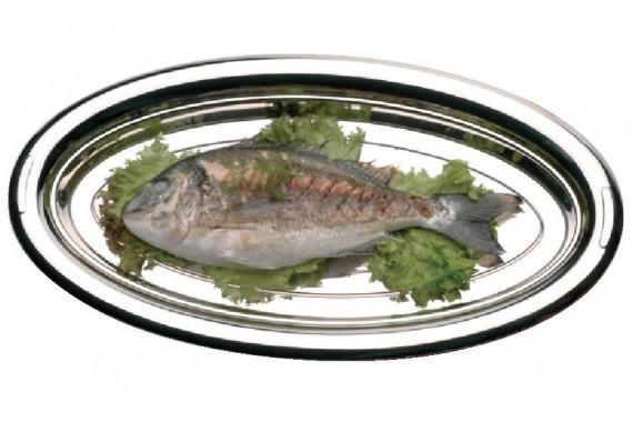 Блюдо для рыбы овальное
