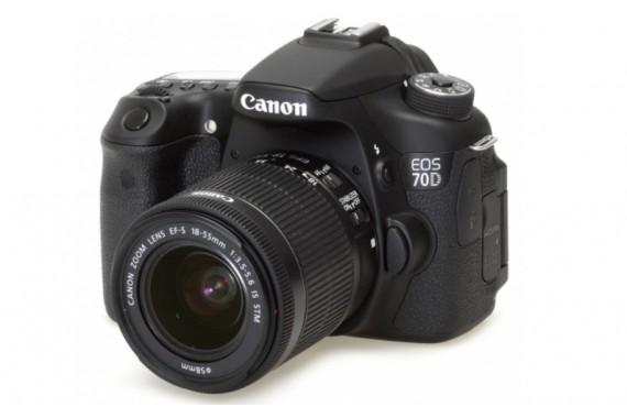 Canon EOS 70D с объективом 18-55mm IS II