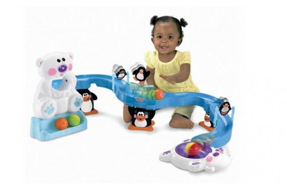 Детская развивающая игрушка Fisher Price «Ледяная горка»