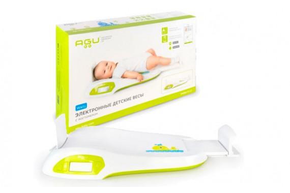 Детские Весы Agu Wally с электронным ростомером