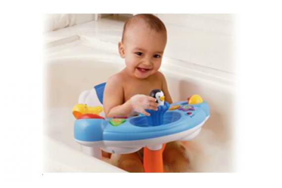 Детский стульчик для купания VTech «Веселый пингвинчик»