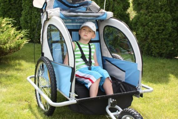 Детская велоколяска/ велоприцеп