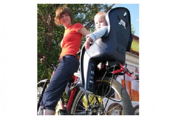 Детское сидение на велосипед