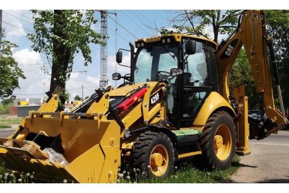 Экскаватор-погрузчик CAT (Caterpillar 428F)