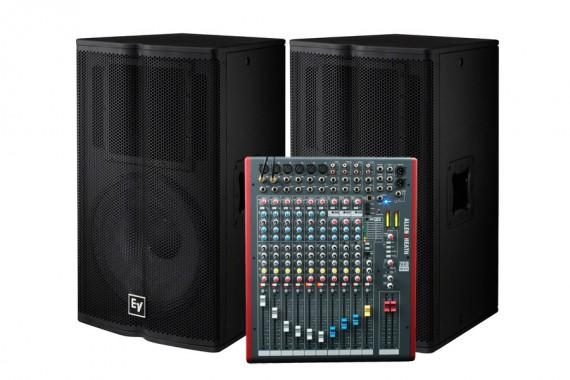 Комплект звукового оборудования Electro-Voice TX1152 (1,5 кВт)