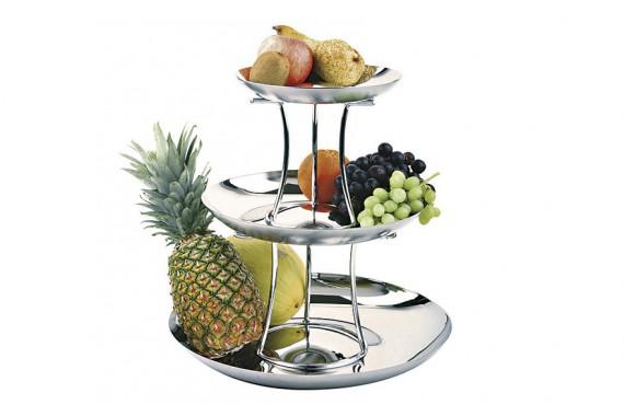 Этажерка для фруктов трехъярусная