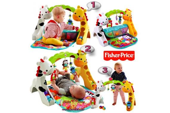 Гимнастический центр Fisher Price 3 в 1