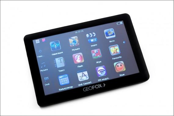 GPS-навигатор GeoFox 502
