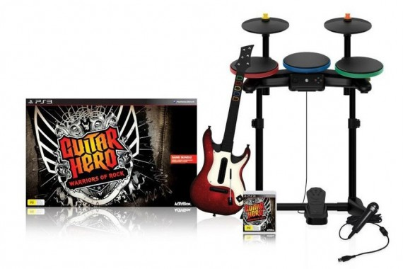 Guitar Hero для Sony Playstation 3