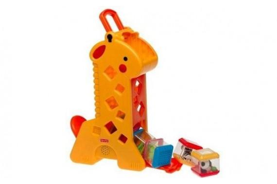Игрушка Fisher Price «Жираф с кубиками»