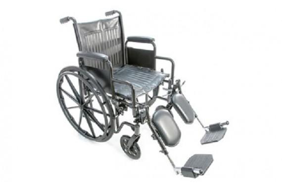 Инвалидная коляска с поддержкой голени FS511B