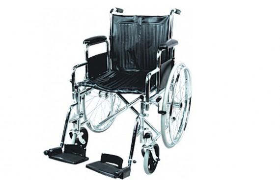 Инвалидная коляска с поддержкой голени