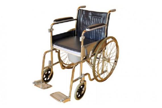 Инвалидная коляска с санитарным устройством LK 6005-46W