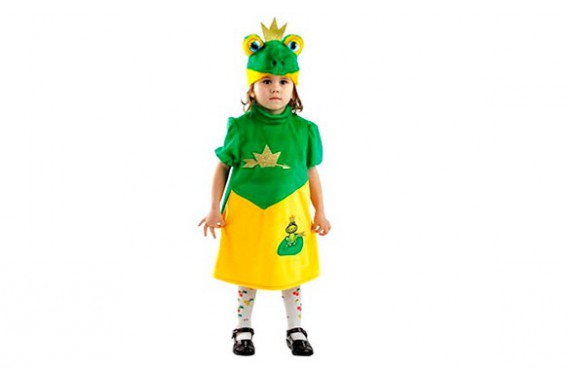Карнавальный костюм «Царевна-Лягушка»
