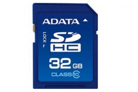 Карта памяти Adata SD HC 32Gb 10 class