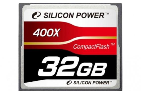 Карта памяти CF 32Gb 400X Silicon Power