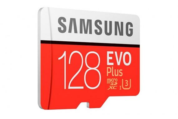 Карта памяти Samsung EVO + microSDXC 128GB