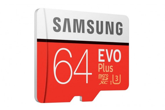 Карта памяти Samsung EVO + microSDXC 64GB