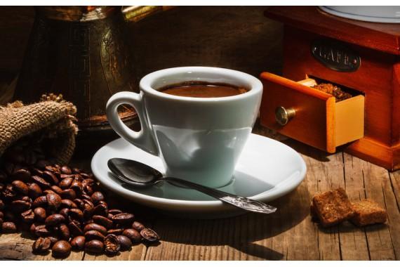 Кофейный сервиз (блюдце, чашка, ложка)