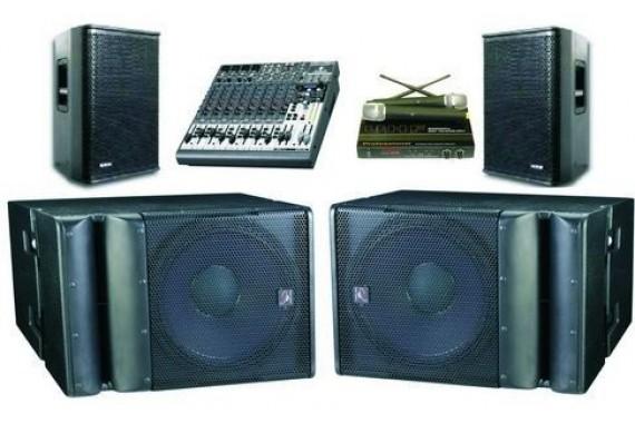 Комплекты звукового оборудования