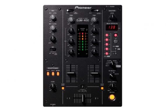 Комплект DJ Pioneer DJM-400 + Pioneer CDJ-100