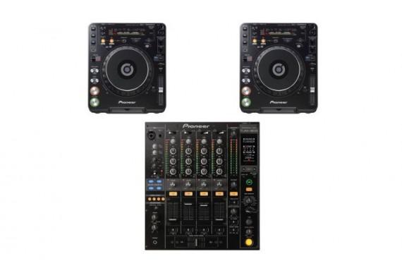Комплект DJ Pioneer DJM-800 + Pioneer CDJ-1000 МК3
