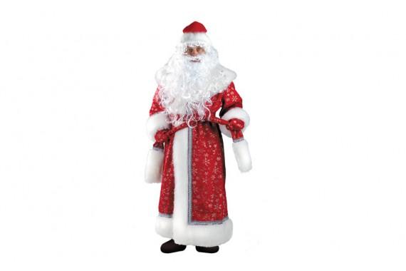 «Костюм для взрослых» Дед Мороз Плюш