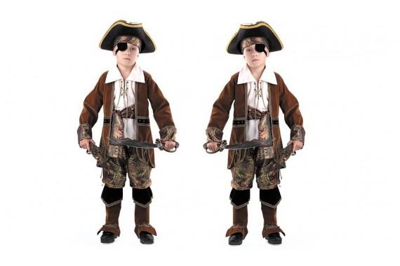 Костюм «Капитан пиратов» коричневый