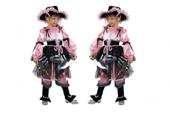 Костюм «Пиратка» розовая