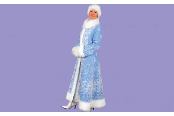 Карнавальный костюм «Снегурочка»(удлиненная)