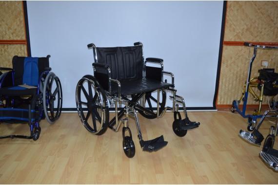 Кресло-коляска повышенной грузоподъемности LK6118-51