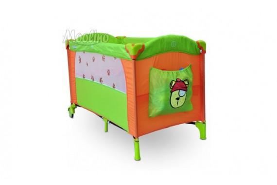 Кровать-манеж Moolino 2 уровня