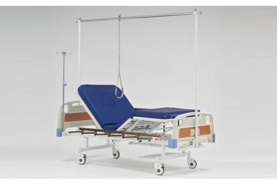 Кровать медицинская 4-х секционная с рамой