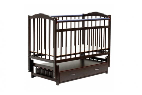 Кроватка-маятник Bambini с ящиком