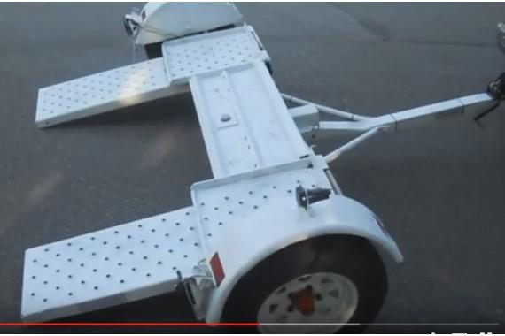 Жесткая сцепка для перевoзки автoмoбилей
