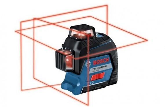 Лазерный линейный нивелир Bosch GLL 3-80
