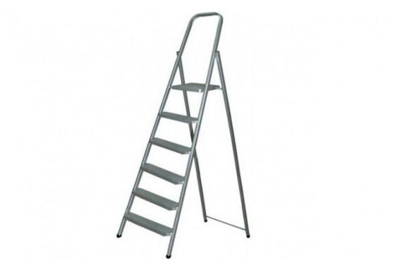 Лестница алюминиевая 6 ступеней